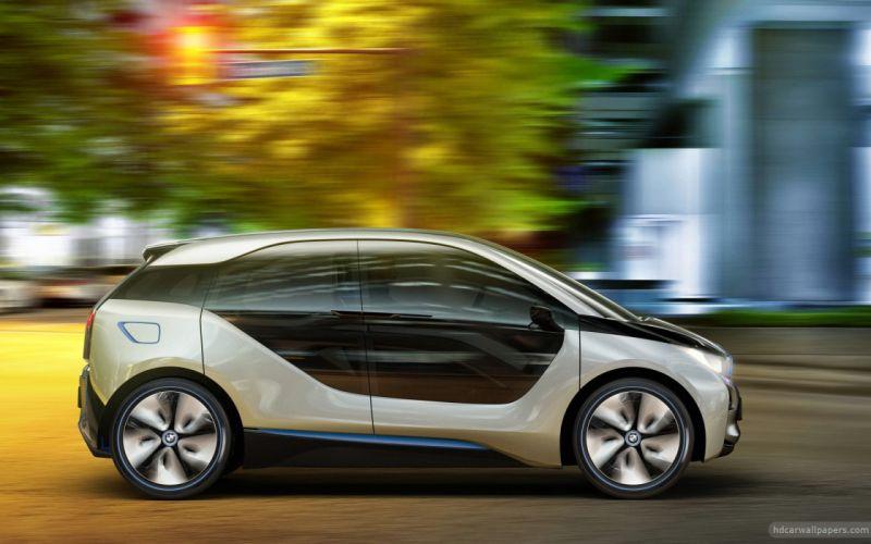cars concept art BMW i3 wallpaper