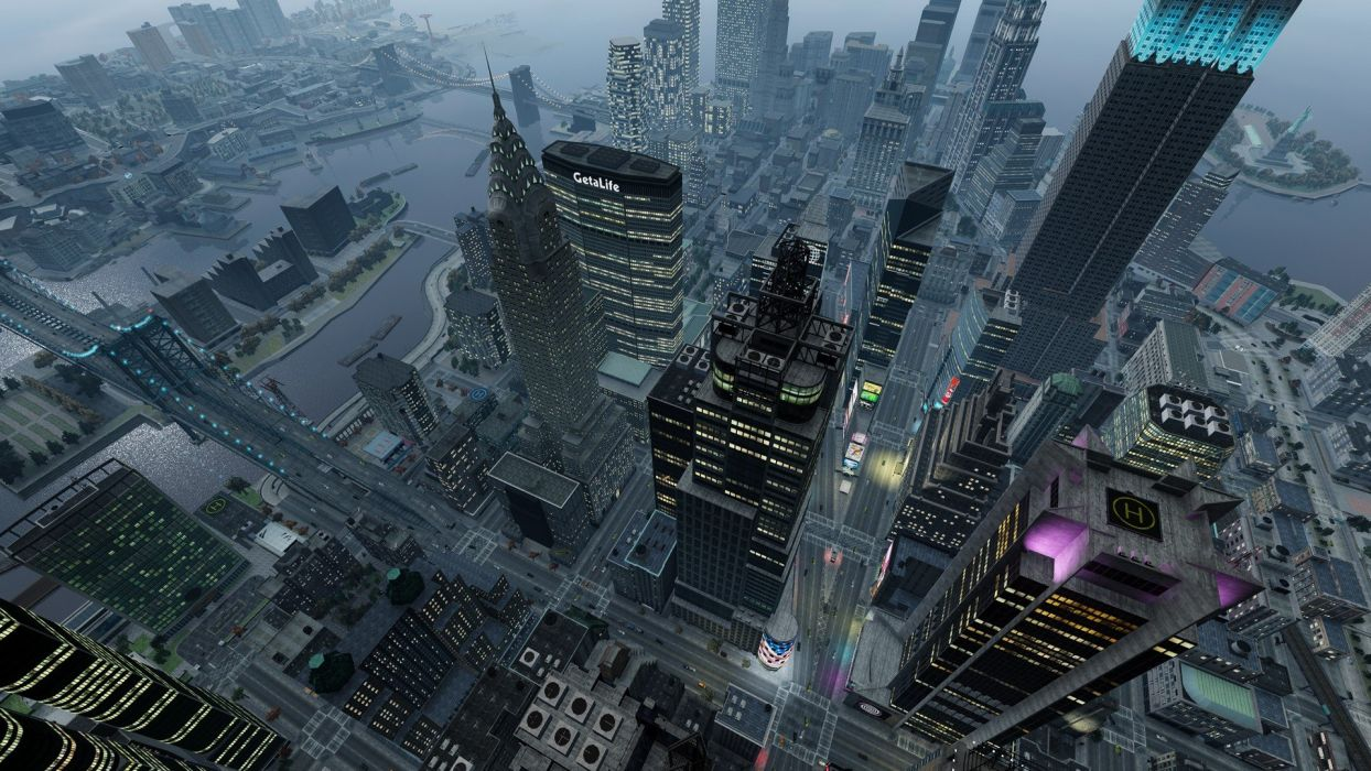video games screenshots Grand Theft Auto IV wallpaper
