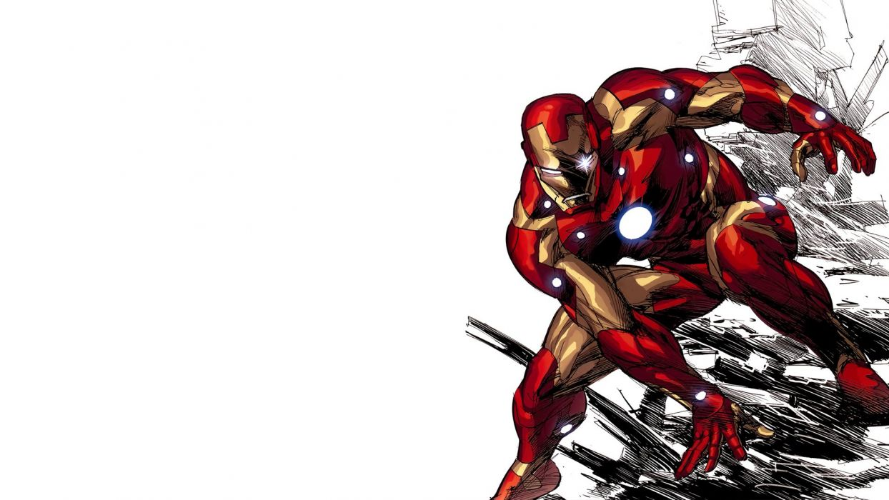 Iron Man Marvel Comics Wallpaper