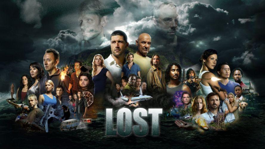 Lost (TV Series) television cast wallpaper