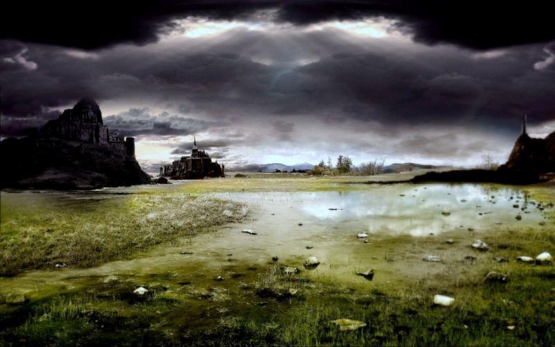 landscapes fantasy art Game of Thrones wallpaper