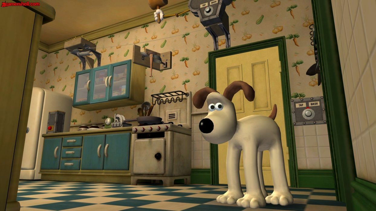 Wallace and Gromit wallpaper