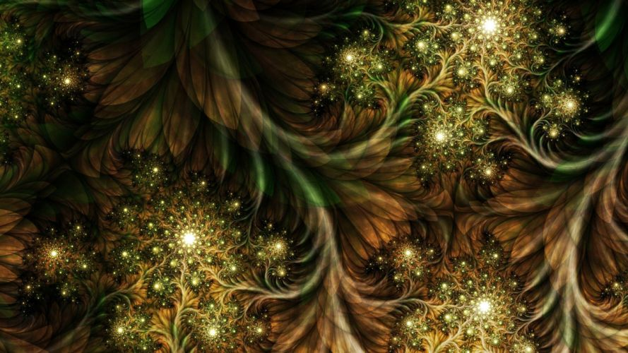 abstract nature fractals wallpaper