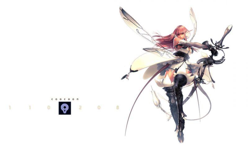 women wings fairies armor elves swords wallpaper