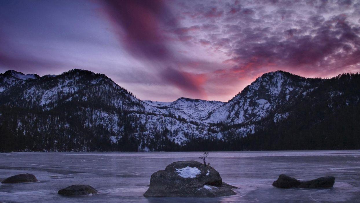 California Nevada Sierra wallpaper
