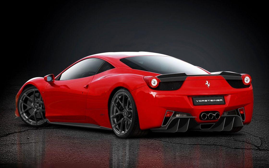 Ferrari supercars tuning Vorsteiner Ferrari 458 wallpaper