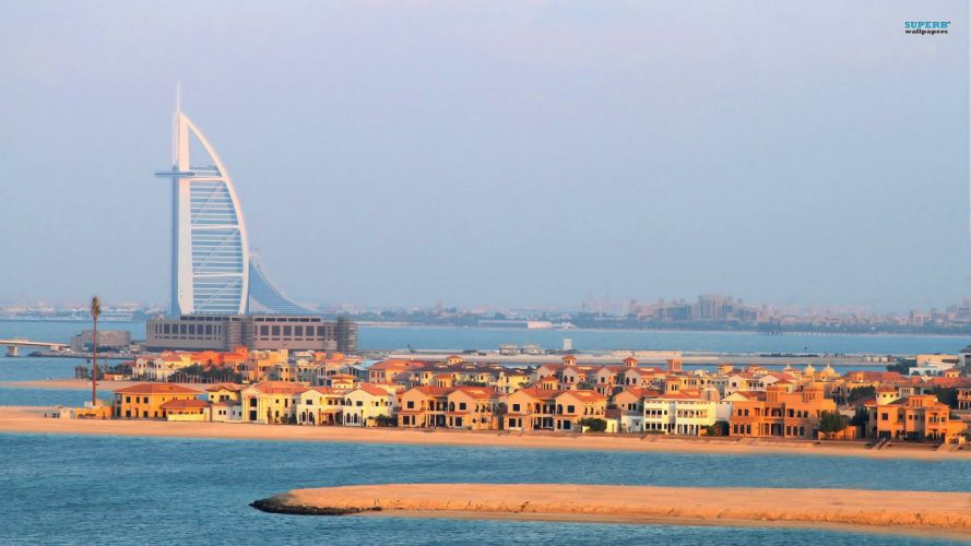 cityscapes Dubai Burj Al Arab Arab wallpaper