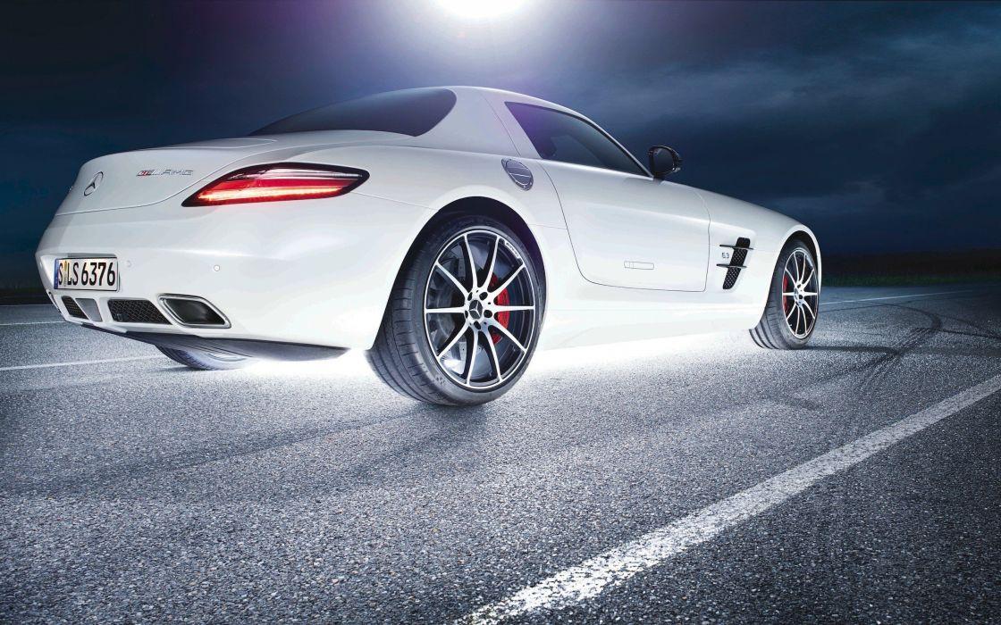 cars SLS AMG GT wallpaper