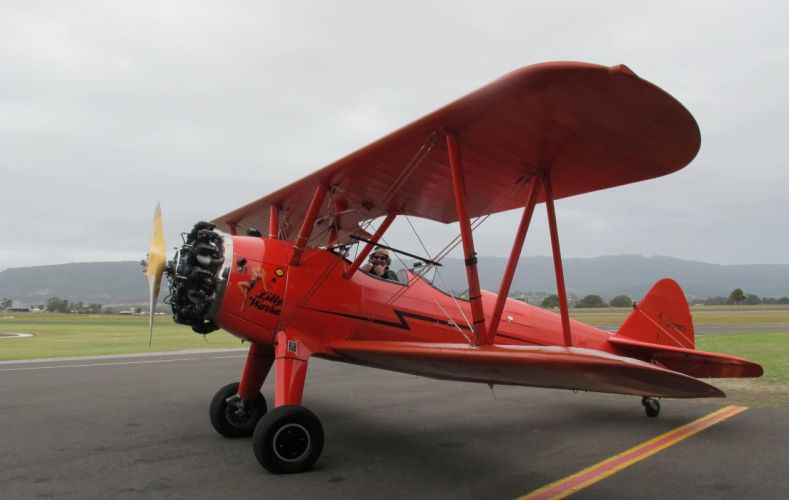 biplane airplane plane aircraft wallpaper