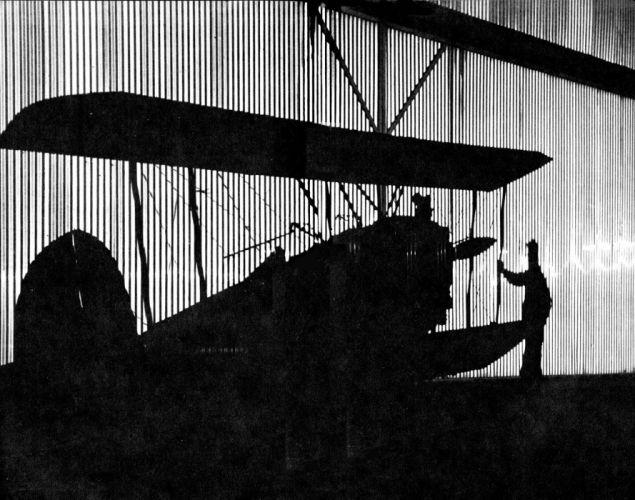 biplane airplane plane aircraft shadow reflection wallpaper