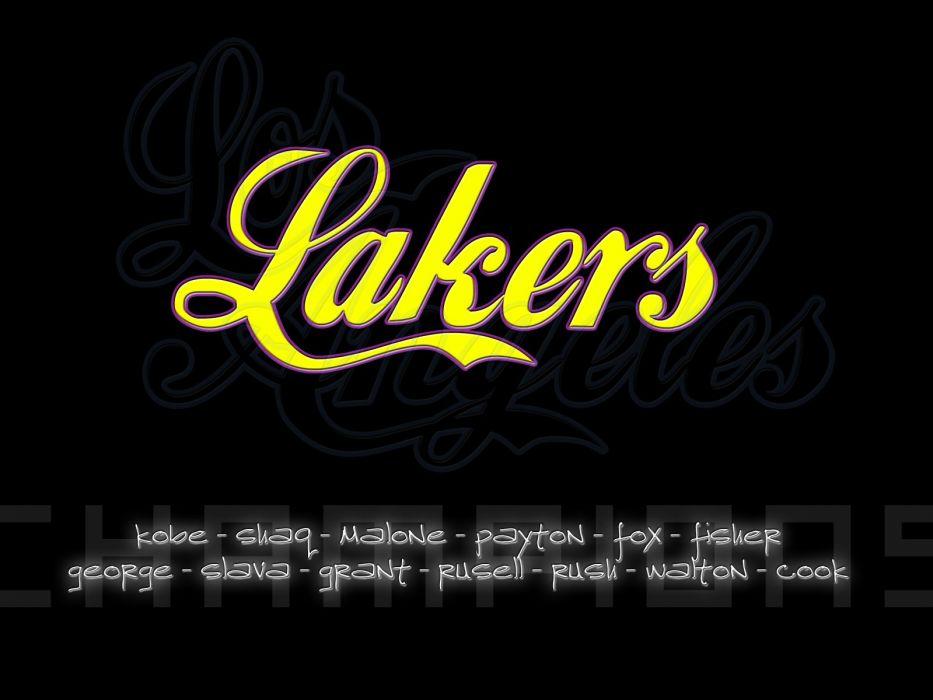 LOS ANGELES LAKERS nba basketball (164) wallpaper