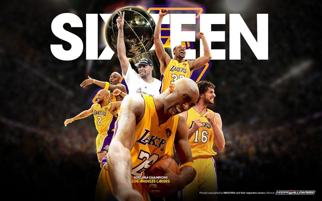 LOS ANGELES LAKERS nba basketball (162) wallpaper