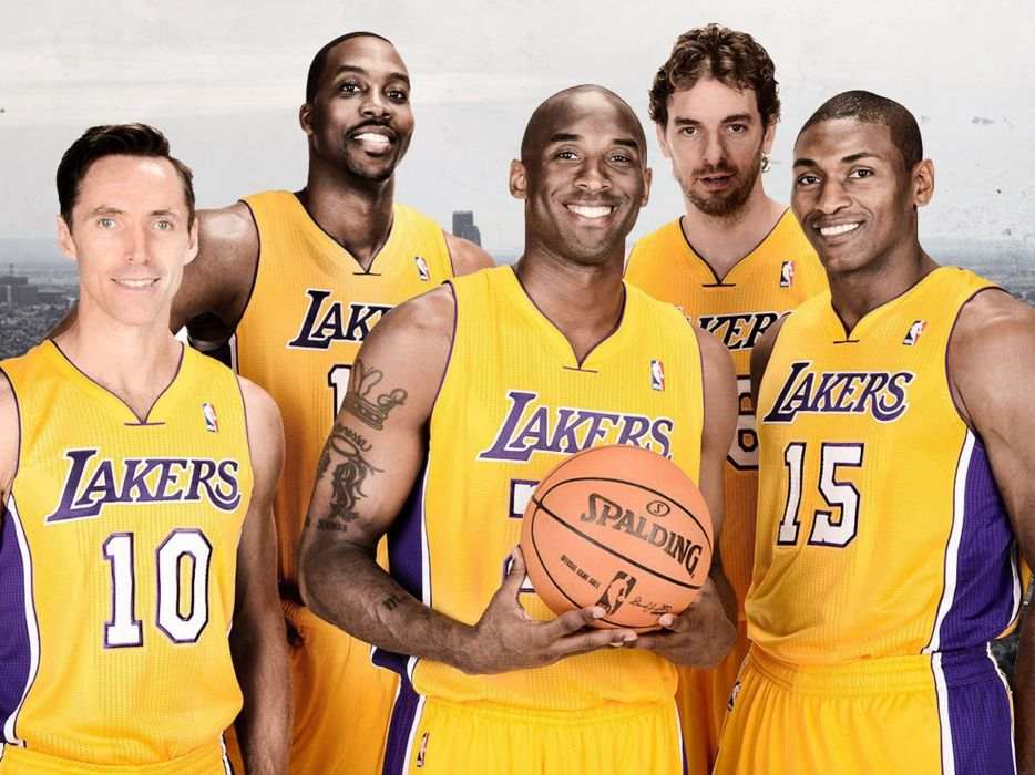 LOS ANGELES LAKERS nba basketball (21) wallpaper