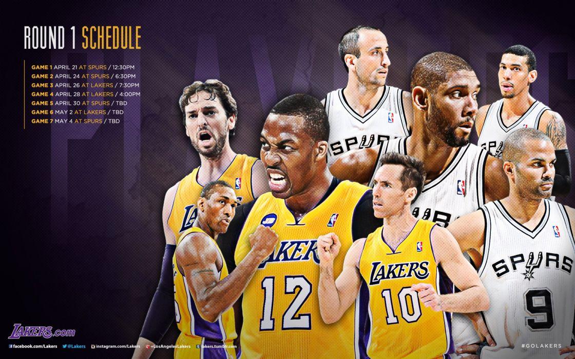 LOS ANGELES LAKERS nba basketball (42) wallpaper