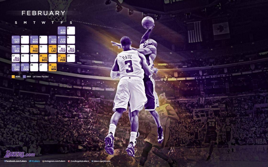 LOS ANGELES LAKERS nba basketball (44) wallpaper