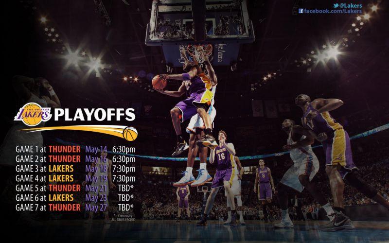 LOS ANGELES LAKERS nba basketball (53) wallpaper