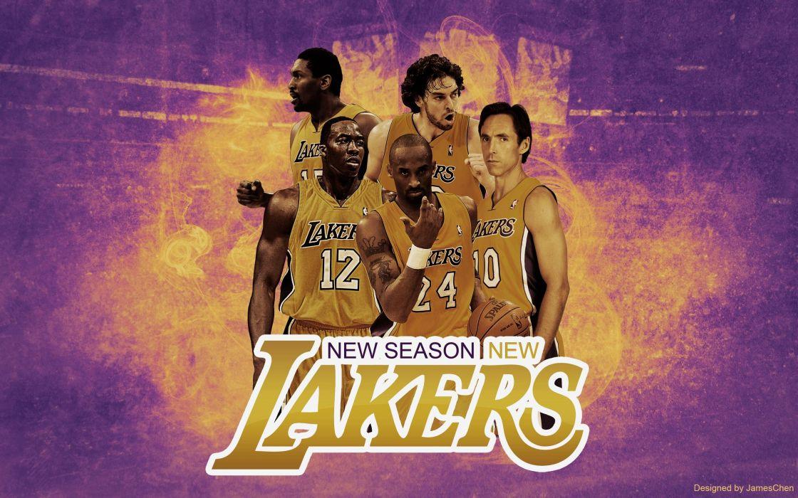 LOS ANGELES LAKERS nba basketball (3) wallpaper