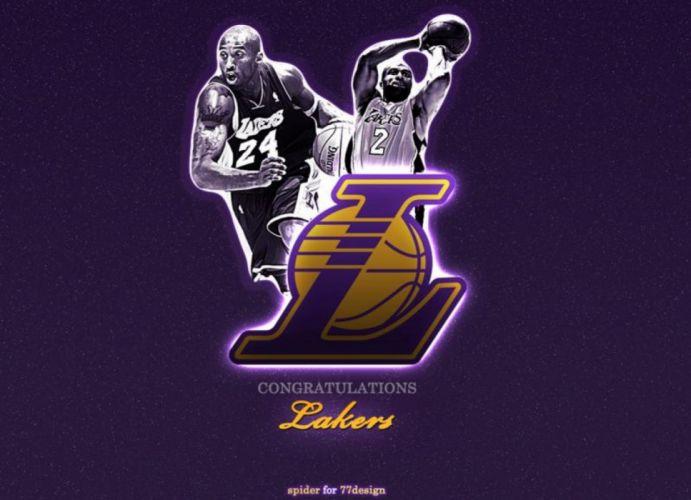 LOS ANGELES LAKERS nba basketball (14) wallpaper