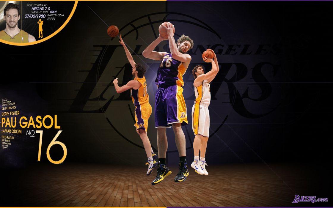 LOS ANGELES LAKERS nba basketball (26) wallpaper