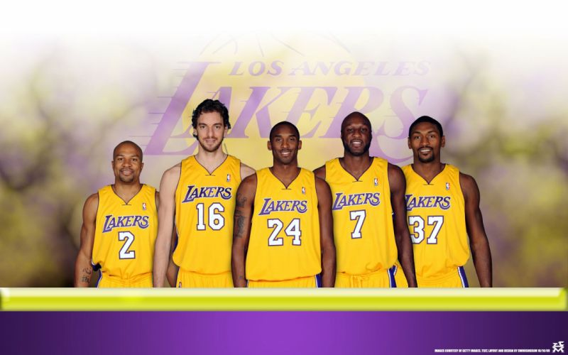 LOS ANGELES LAKERS nba basketball (43) wallpaper