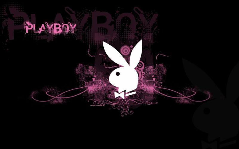 PLAYBOY adult logo poster (2) wallpaper