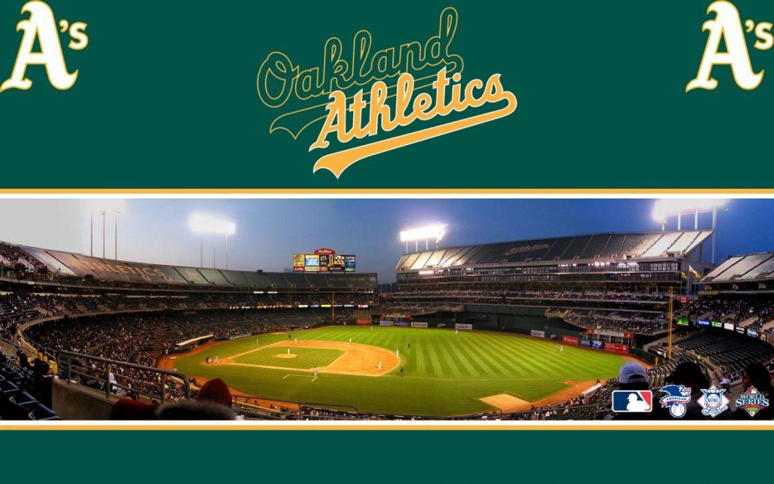 OAKLAND ATHLETICS mlb baseball (16) wallpaper