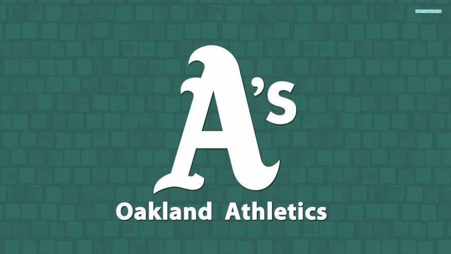 OAKLAND ATHLETICS mlb baseball (53) wallpaper