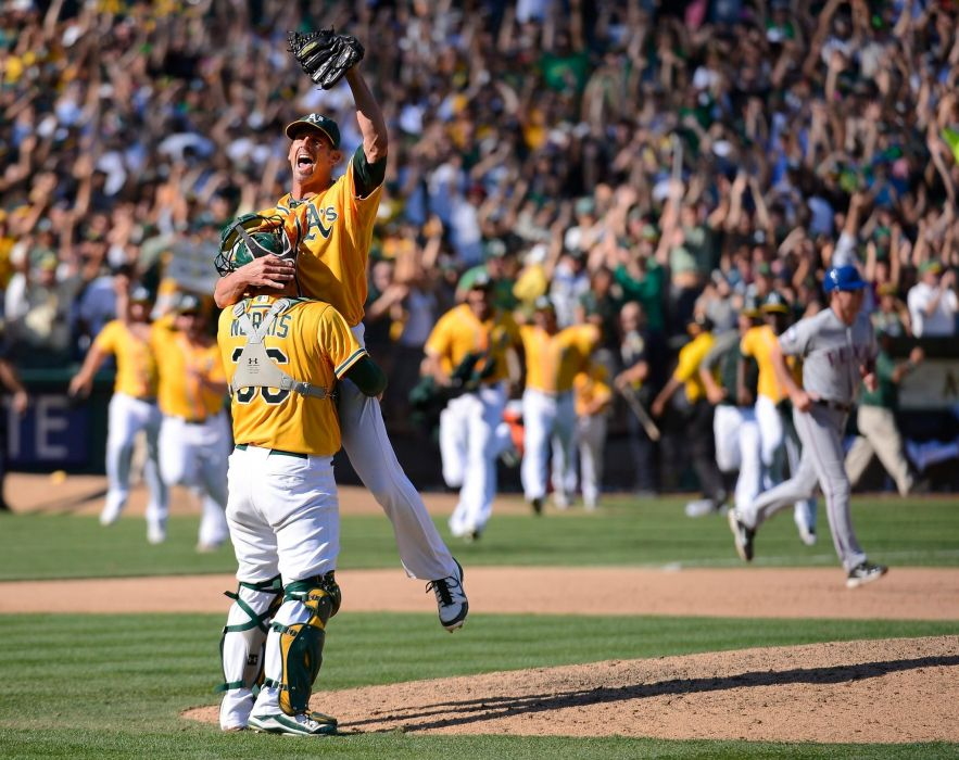 OAKLAND ATHLETICS mlb baseball (75) wallpaper