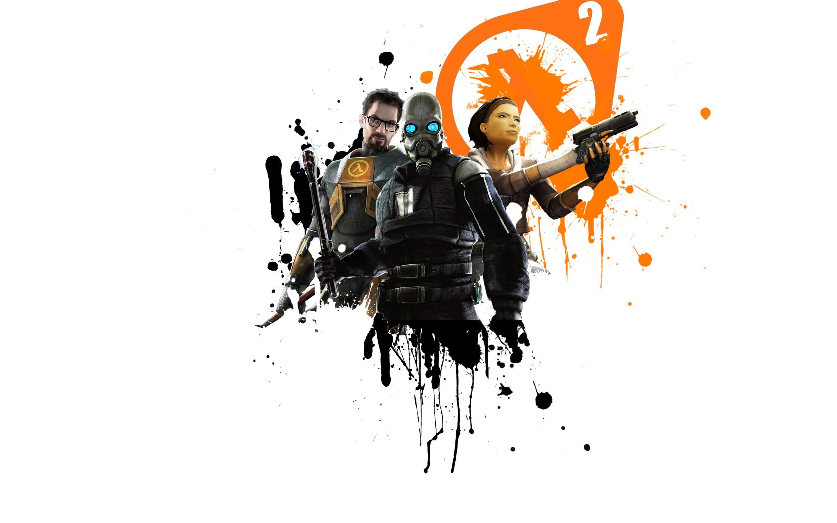 Video Games Gordon Freeman Combine Alyx Vance Half Life 2 Simple