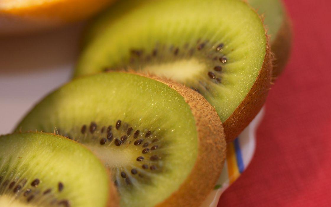 fruits kiwi macro berries wallpaper