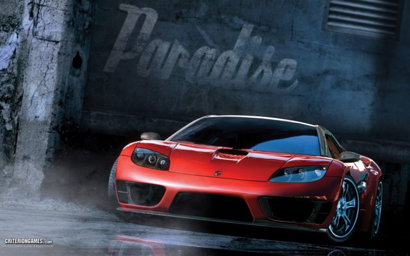 video games Burnout Paradise wallpaper