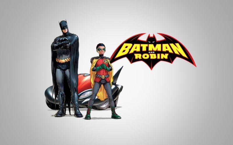 Batman Robin DC Comics Dick Grayson Frank Quitely Batman And Robin wallpaper