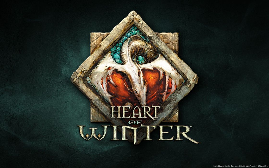 winter Icewind Dale hearts wallpaper