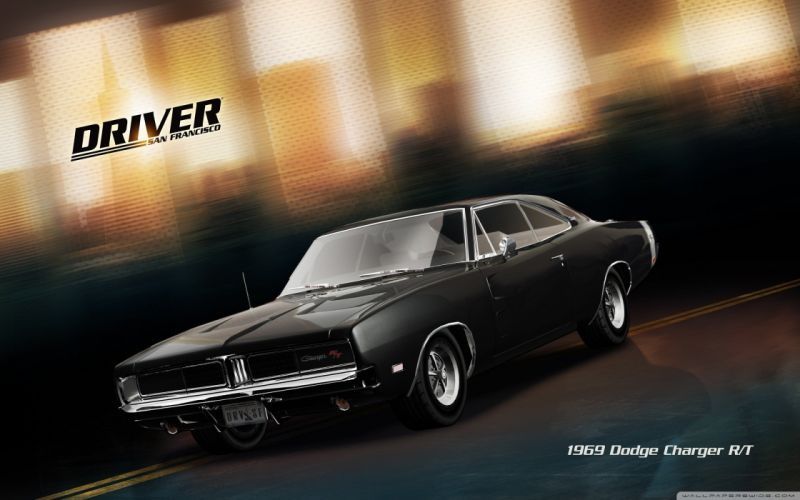 video games San Francisco Dodge Charger driver Dodge Charger RT wallpaper