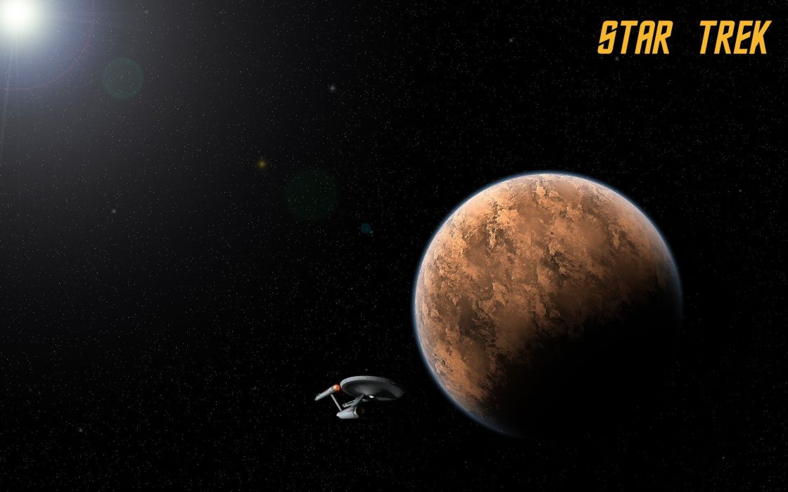 Star Trek USS Enterprise TOS wallpaper