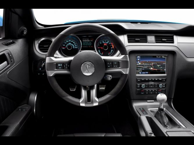 dashboards Ford Shelby Ford Mustang Shelby GT500 wallpaper