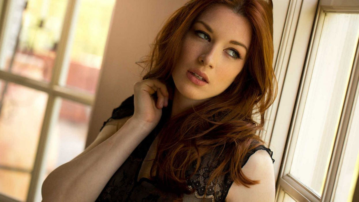 brunettes women redheads models Stoya Babes magazine wallpaper