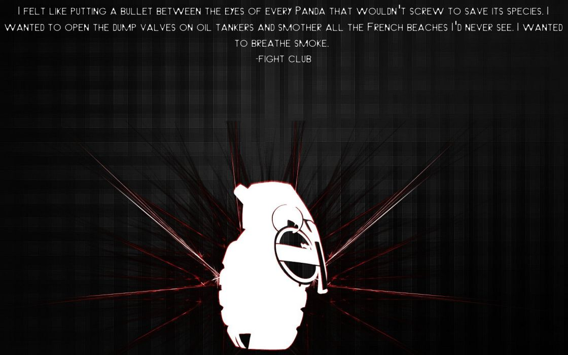 quotes Fight Club wallpaper
