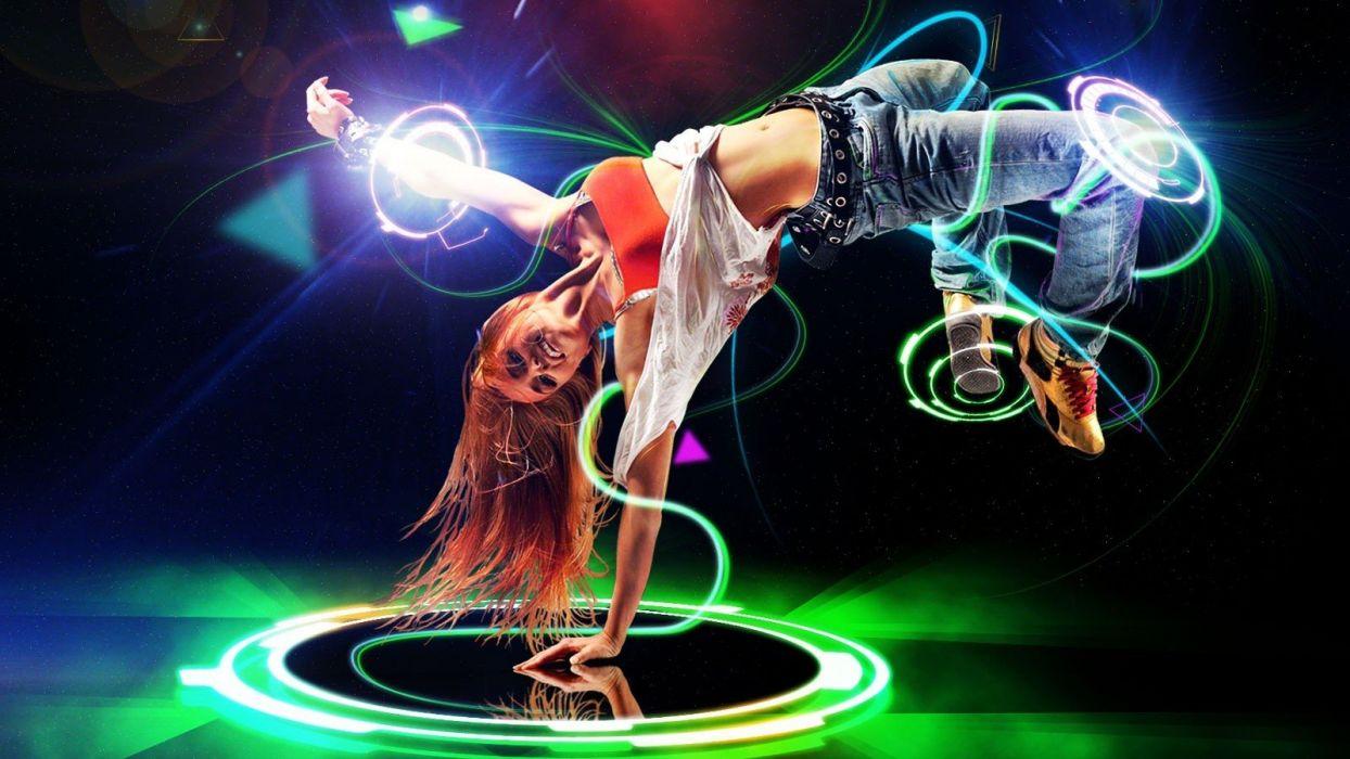 women music dancing b-girl wallpaper
