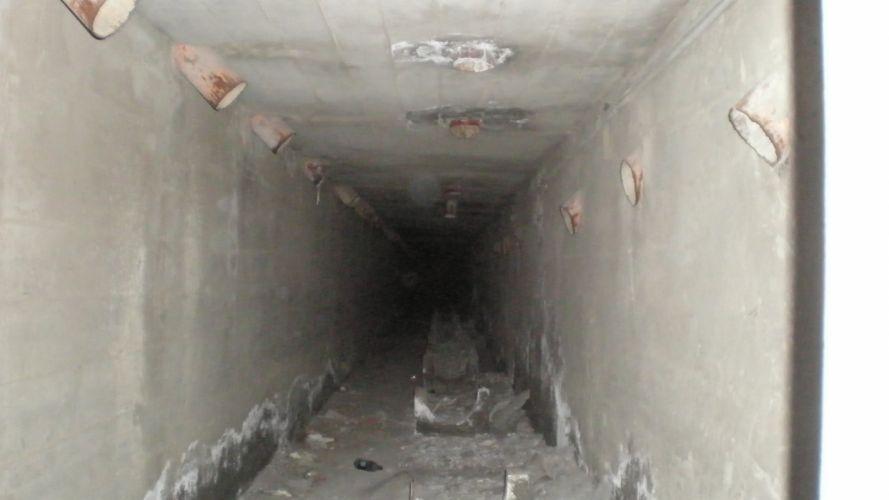creepy tunnels wallpaper