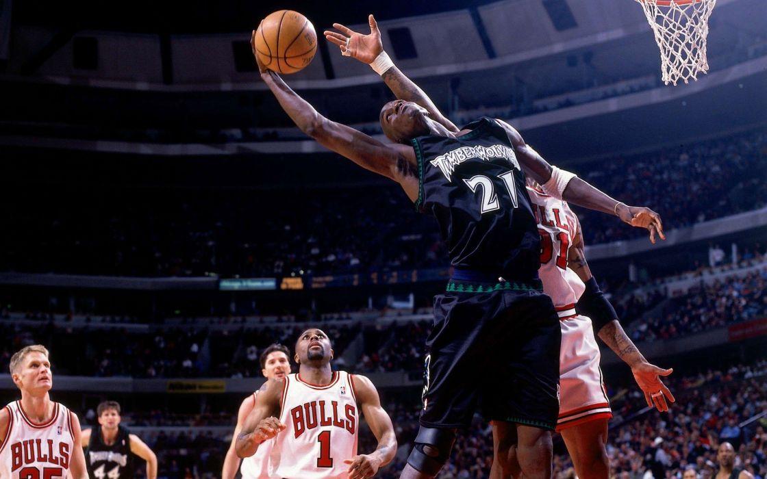 Minnesota NBA basketball Kevin Garnett Chicago Bulls Minnesota Timberwolves Steve Kerr wallpaper