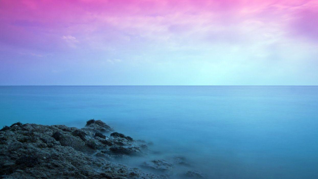 ocean landscapes waterscapes sea wallpaper