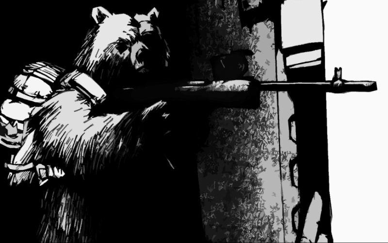 guns bears wallpaper