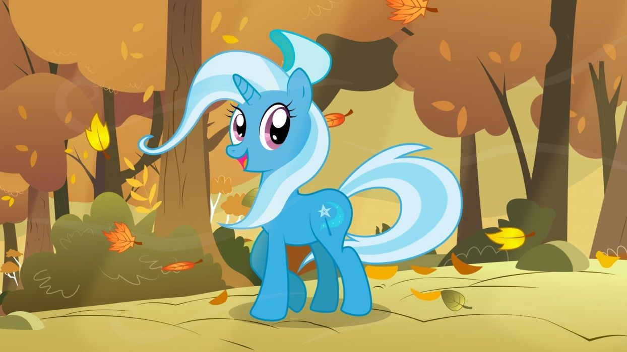 autumn wind ponies The Great and Powerful Trixie My Little Pony: Friendship is Magic wallpaper