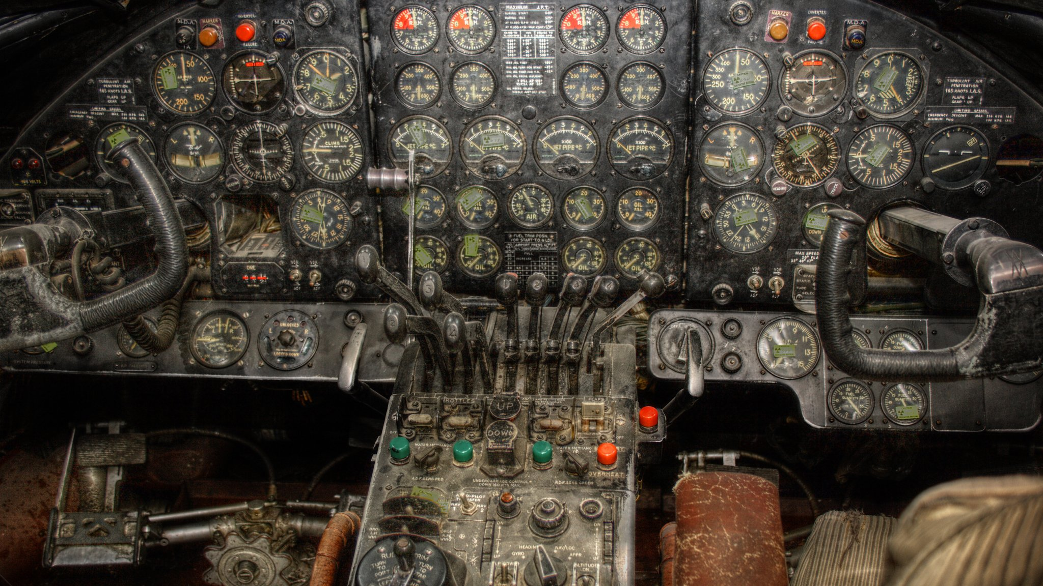 Aircraft cockpit aviation wallpaper 2048x1152 319559 for Airplane cockpit wall mural