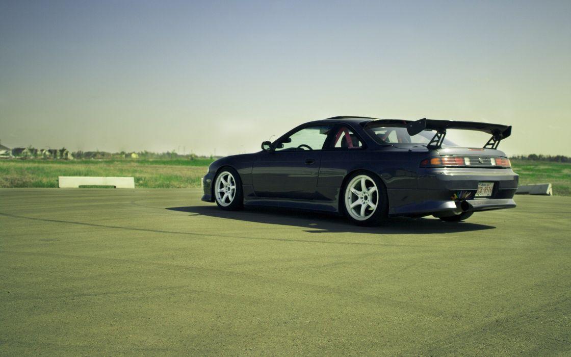 cars JDM Japanese domestic market Nissan Silvia S14 auto wallpaper