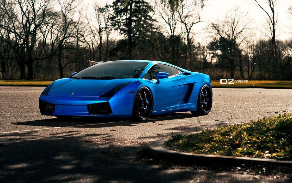 blue cars Lamborghini vehicles tuning wheels Lamborghini Gallardo luxury sport cars speed automobiles wallpaper