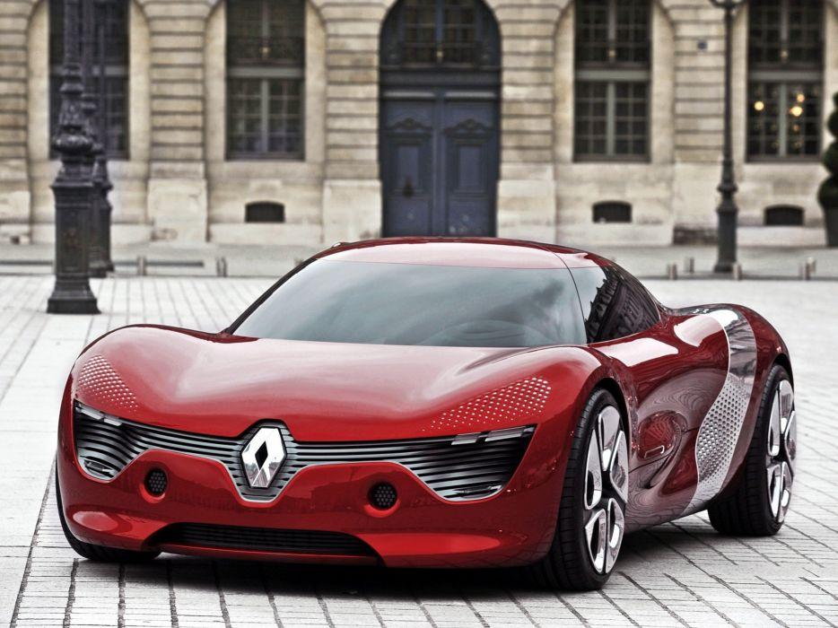 cars Renault concept car wallpaper