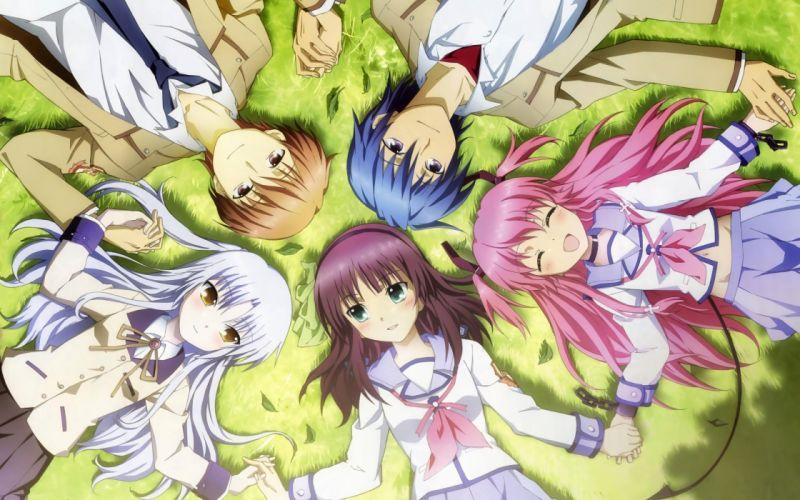 Angel Beats! anime manga anime girls wallpaper