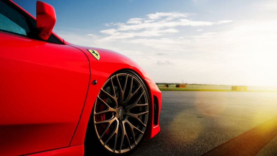 nature Ferrari wallpaper
